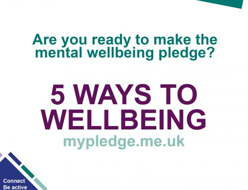 My mental wellbeing pledge – taking the first step to a healthy mind