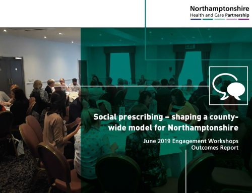 Read the report from our social prescribing engagement days