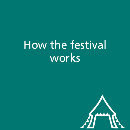 How the festival works