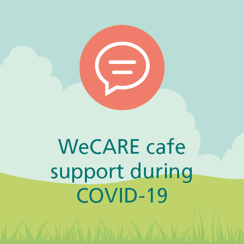WeCARE cafe support during COVID-19