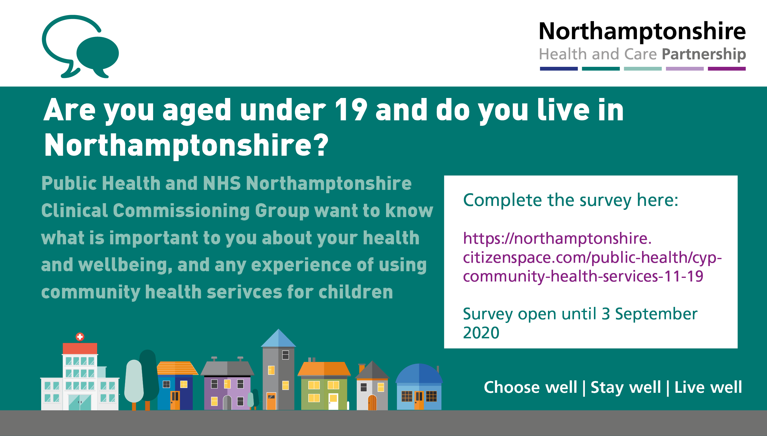 Northamptonshire children and young people urged to have their say to help shape the future of local children and young people's community health services