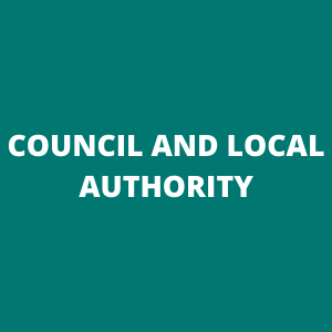 Council and local authority