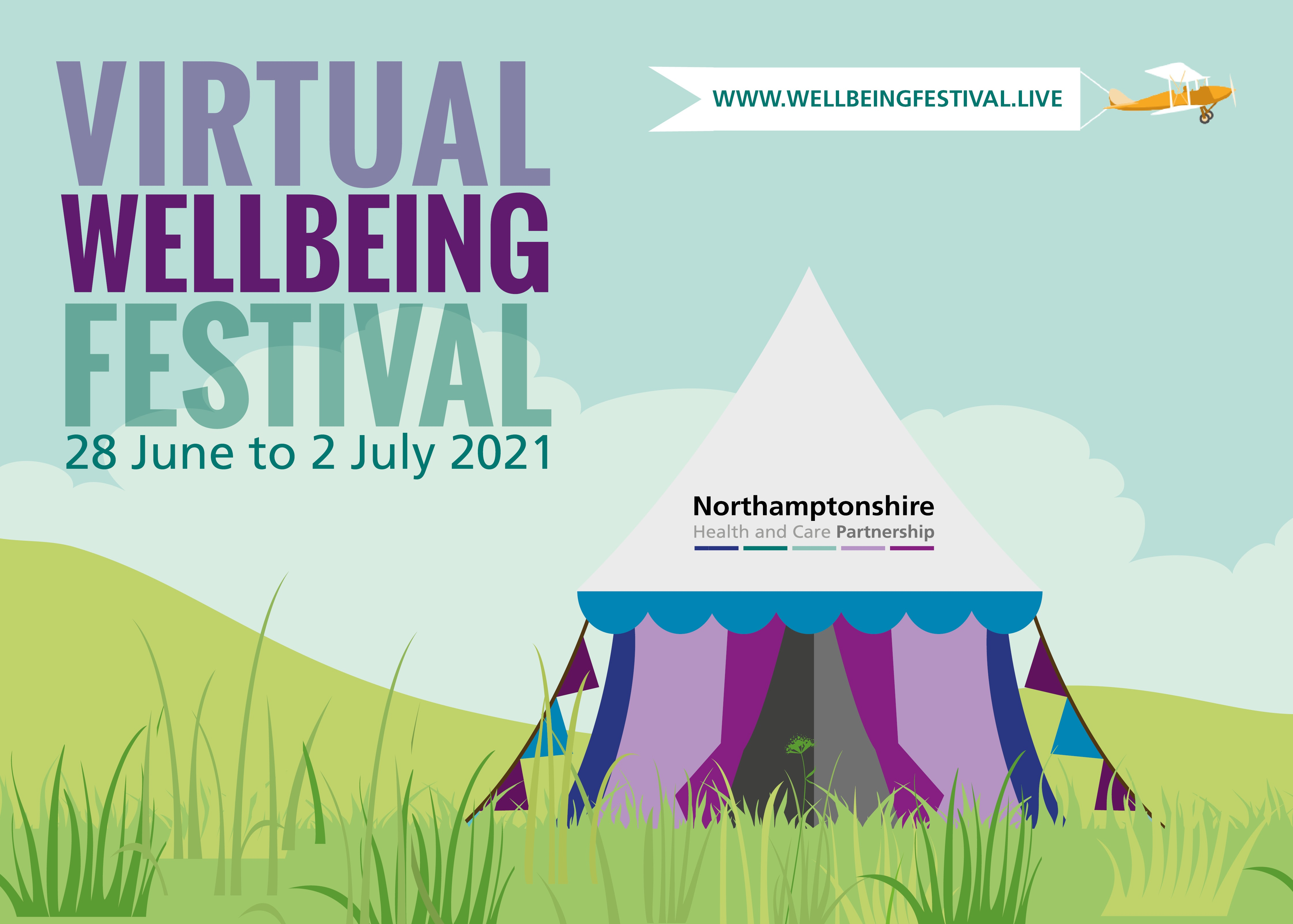 Save the date for Northamptonshire's Virtual Wellbeing Festival 2021!