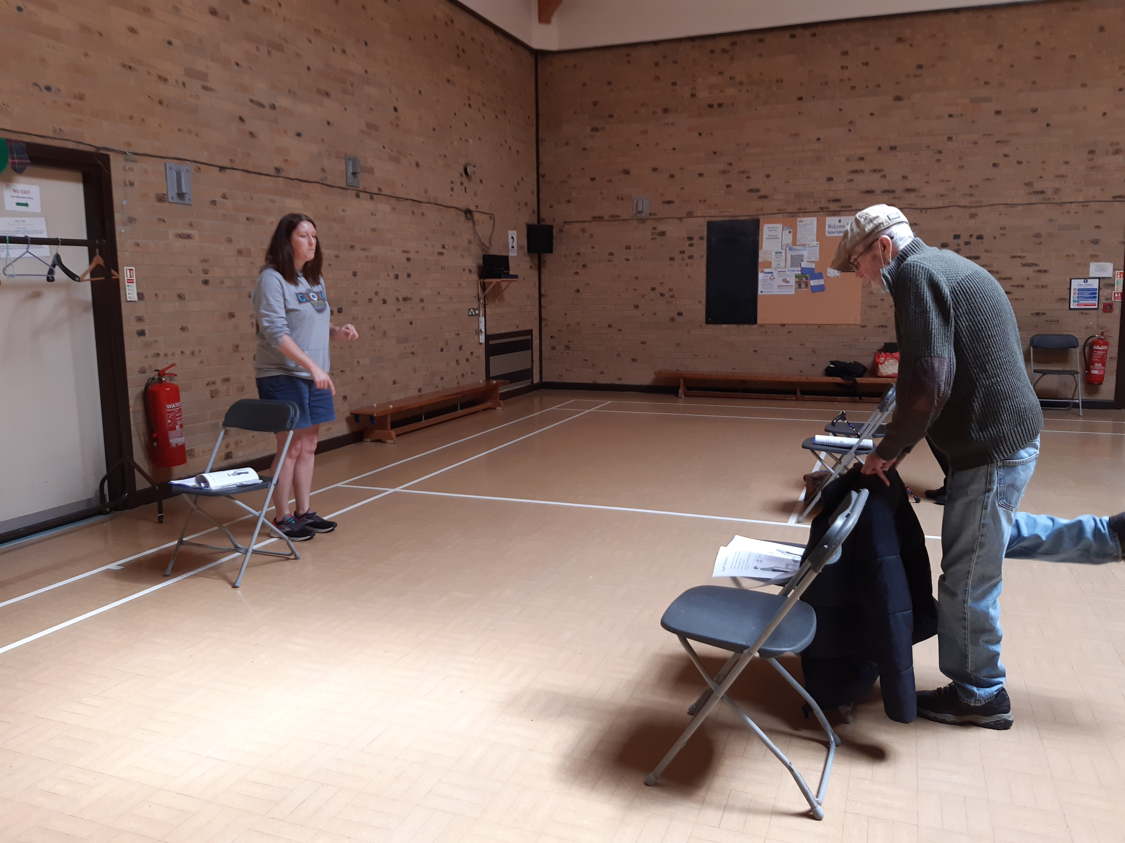 iCAN classes help people with frailty to Get Up and Go in Northamptonshire